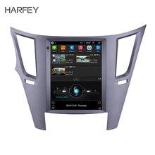 """Harfey для 2010-2013 Subaru Outback Android 9,1 автомобильный мультимедийный плеер видеокамера заднего вида в автомобиле с поддержкой технологии MirrorLink Link FM 9,"""" 4G LTE gps Navi"""