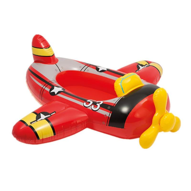 Safety Cartoon Swimming Rings Summer Outdoor Beach Pool Inflatable Children Swim Seat Fun Children Toys Inflatable Swim Toy