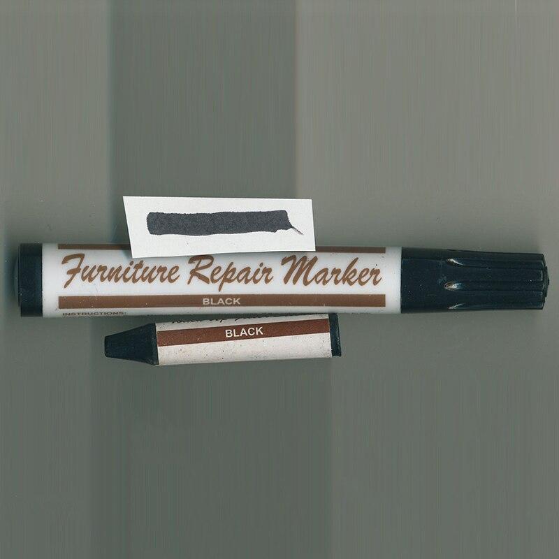 Repair Furniture Floor Scratches Gouges Wood Marker+Color Filler Stick 136*20mm