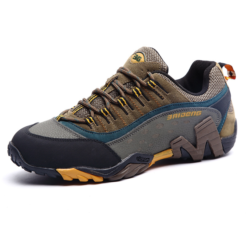 Chaussures de randonnée imperméables chaussures d'escalade en plein air randonnée Trekking Sport baskets hommes