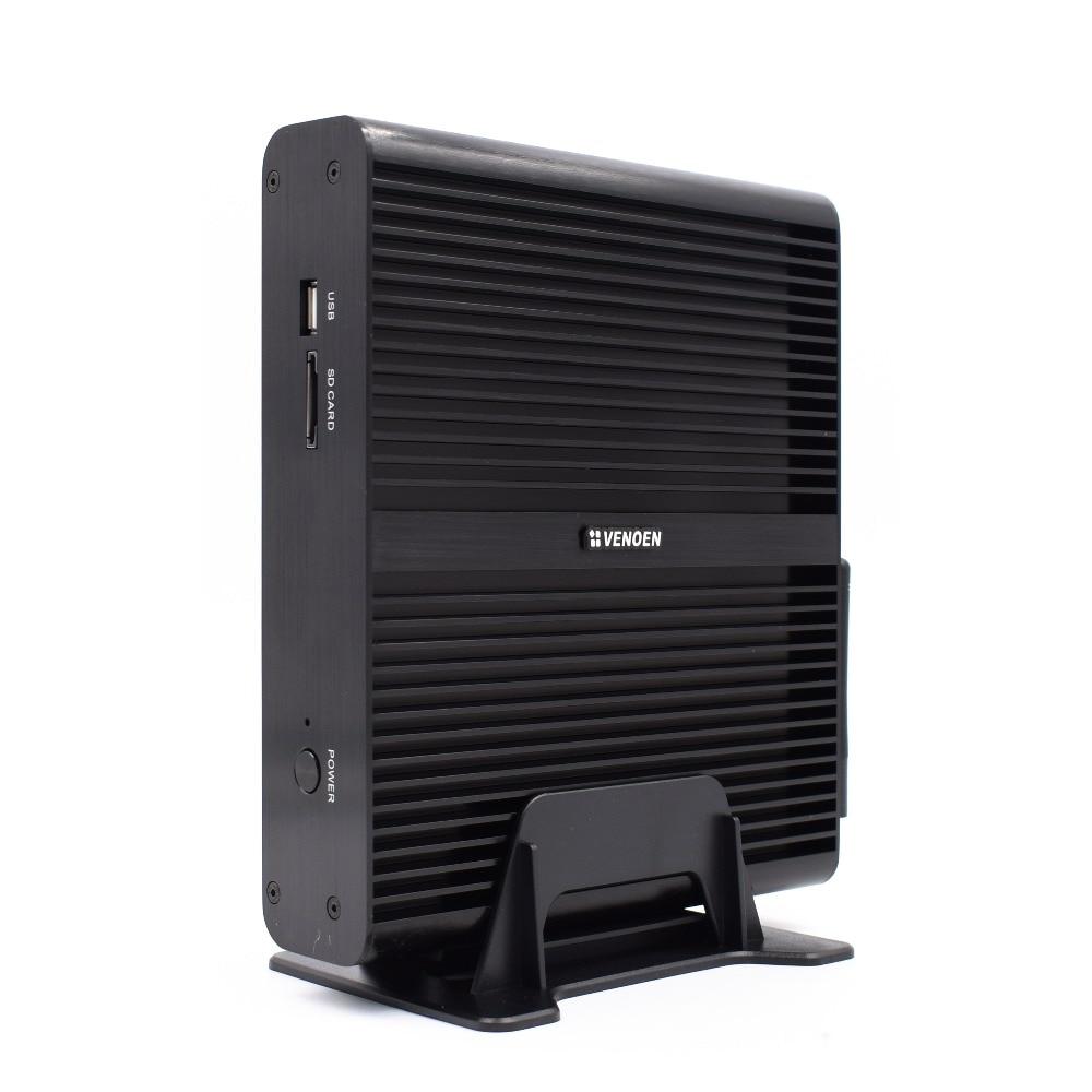 Venoen i7 7500U Fanless Mini PC with Integrated 4K UHD Graphics Card