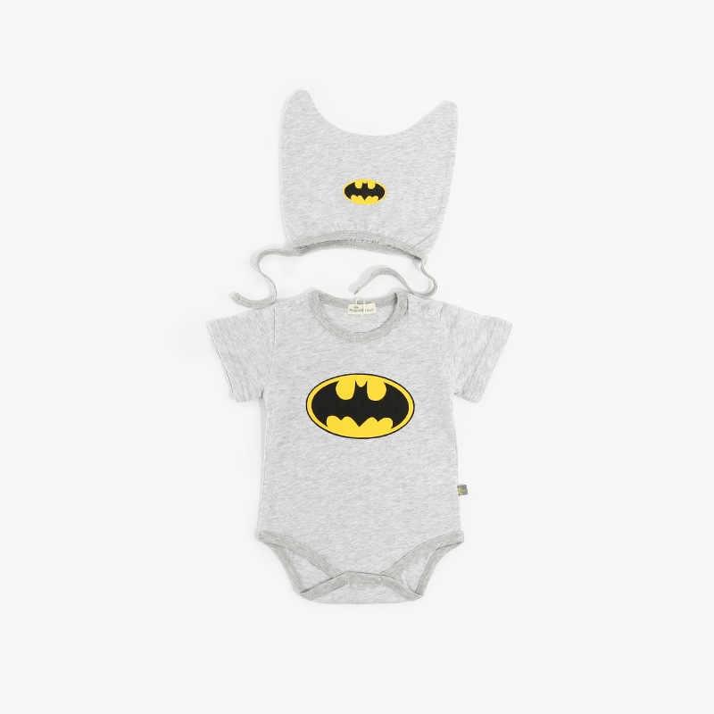 2020 Bebe Nieuwe Mode Cartoon Katoen Kinderen Jongens Kleding Jumpsuit Batman Baby Boy Rompertjes Superman Baby Gilr Romper Baby Kostuum
