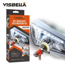 цена на VISBELLA Headlamp Polishing Paste Kit DIY Headlight Restoration for Car Care Repair Hand Tool Sets Head Lamp Lenses by Machine