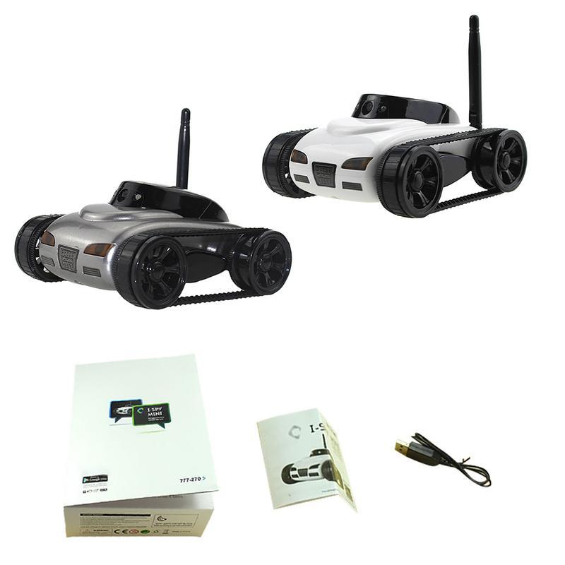 Télécommande Jouet Heureux Vache 777-270 Mini WiFi RC Voiture Avec support de caméra IOS Téléphone Android en temps Réel Transmission char radiocommandé FSWB