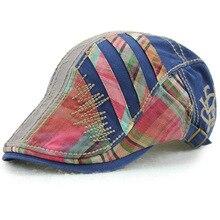 Spring Cotton Beret New Pattern Hats Man Beret Cotton Europe