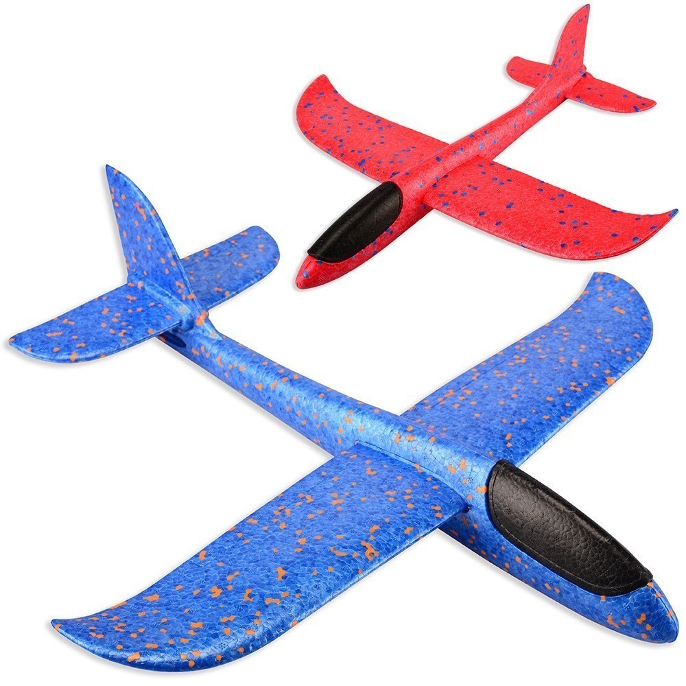 48 Cm Good Quality Hand Launch Throwing Glider Aircraft Inertial Foam Epp Airplane Toy Plane Model Outdoor Toy Educational Toys image