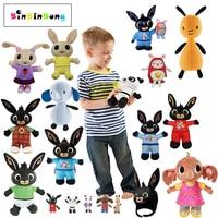 Дропшиппинг bing bunny плюшевая фигурка звук функция Сула флоп Hoppity вуш пандо куклы игрушечные лошадки детей подарки на день рождения