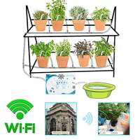 WIFI Mobile phone Control Garden Automatic Drip Irrigation System Watering Device Succulents Plant Water Pump Timer System