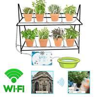 Wi Fi управление мобильным телефоном сад Автоматическая капельная система орошения полива устройство горшок для суккулентов водяной насос т