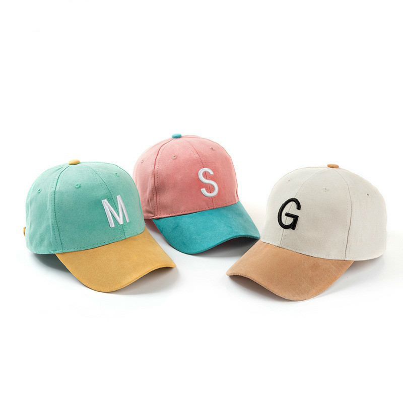 2018 Fashionable Hot Cotton Embroidery Letter M G A S W   Baseball     Cap   Snapback   Caps   Fitted Bone Casquette For Men Custom Hats