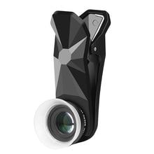 Pholes 2 で 1 ユニバーサル 12 24X マクロ撮影レンズため J5 2017 J7 2017 A7 2017 J5 首相携帯電話カメラレンズ