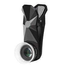Pholes 2 In 1 Universal 12 24X ถ่ายภาพมาโครเลนส์สำหรับ J5 2017 J7 2017 A7 2017 J5 Prime โทรศัพท์มือถือกล้องเลนส์