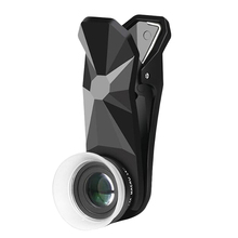 Pholes 2 en 1 objectif de photographie Macro universel 12 24X pour J5 2017 J7 2017 A7 2017 J5 objectif de caméra de téléphone Mobile Prime