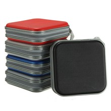 Square CD Bag DVD Plastic Disc Storage Box 40 Disc Double side CD DVD Storage Case outdoor