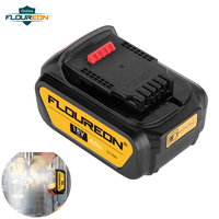 18V 4000mAh Li ion Rechargeable Battery Work with DEWALT DCB200 DCB181 DCB182 DCD780 DCD795 DCF885 DCF895 Wireless Drill Driver