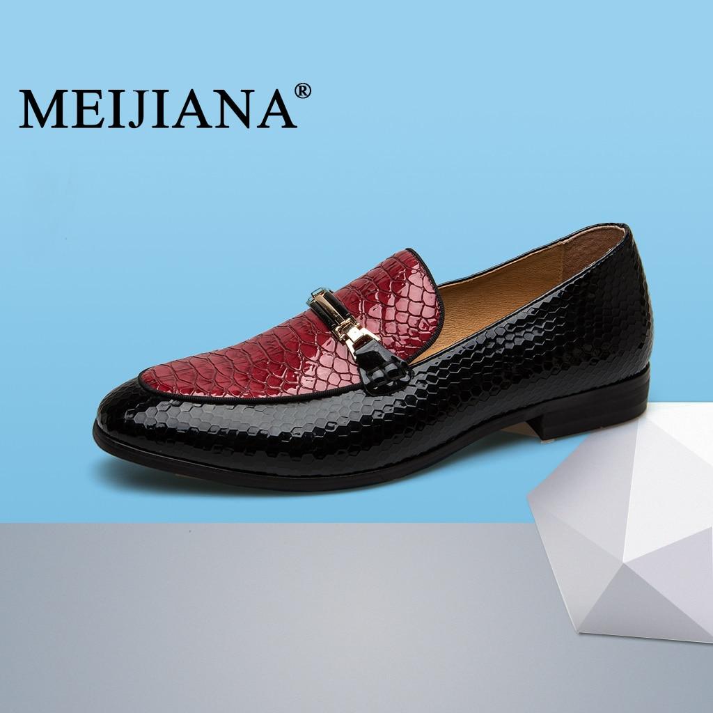 Purple Sac Mode De Chaussures Grande En Décontractées Noires deep Taille Kelly Hommes Cuir Marque Noir Mocassins rouge chocolat Meijiana Main UMVLzpGqS