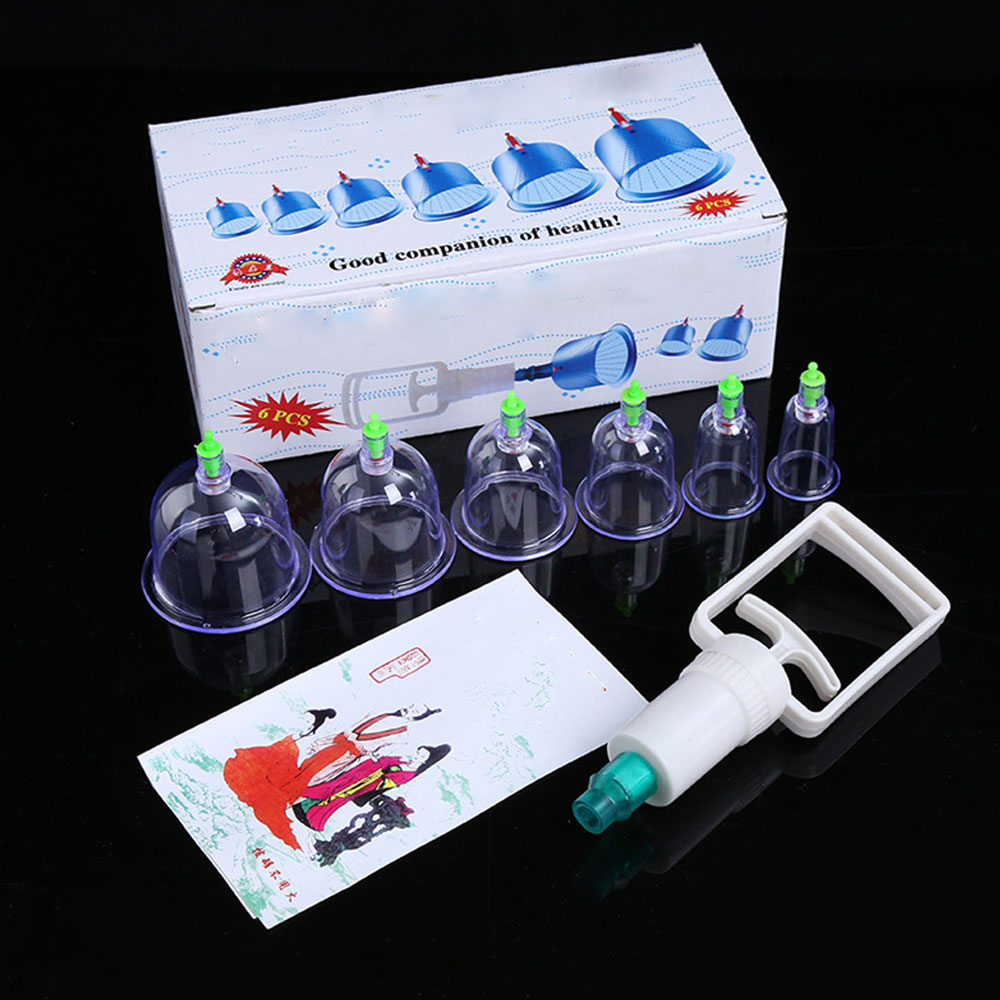 Professional  Cupping Therapy Massage Sets 6Pcs Cupping Therapy Equipment Cups For Muscle And Joint Pain Cellulite