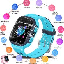New S16 1.44-inch Touch Screen SOS Waterproof Positioning Super-long Standby Smart Childrens Telephone Apple Watch