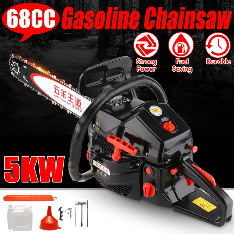 Professional Chainsaw 20 inch 5000W Bar Gas Gasoline Powered Chainsaw 62cc Engine Cycle Chain Saw for WoodworkingProfessional Chainsaw 20 inch 5000W Bar Gas Gasoline Powered Chainsaw 62cc Engine Cycle Chain Saw for Woodworking