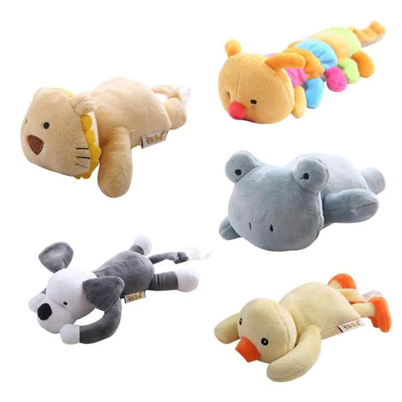 New Kid Baby Pacifier Holder Hanging Removable Plush Animal Doll Toy Soother