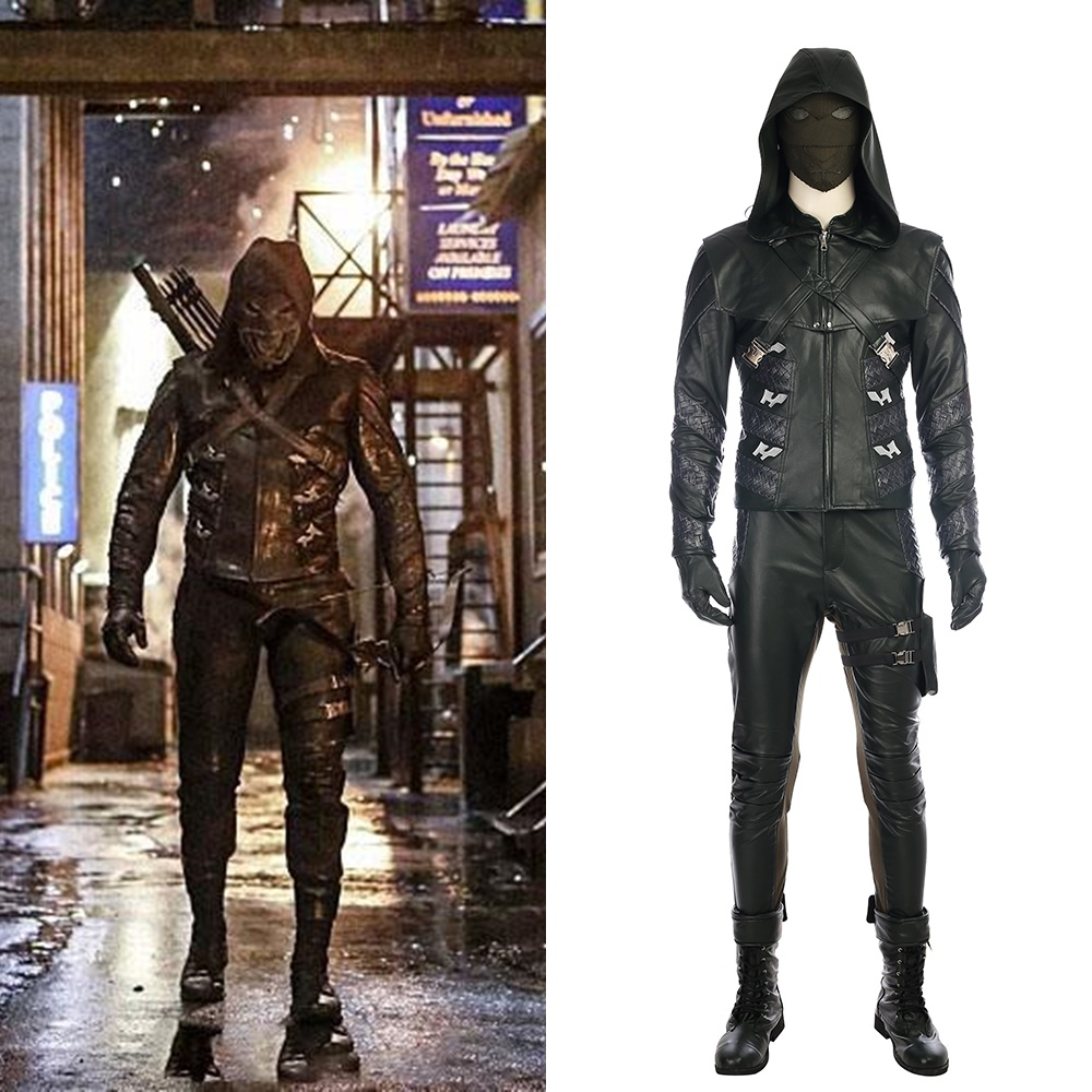 Green Arrow 5 Prometheus Cosplay Costume Halloween Outfit