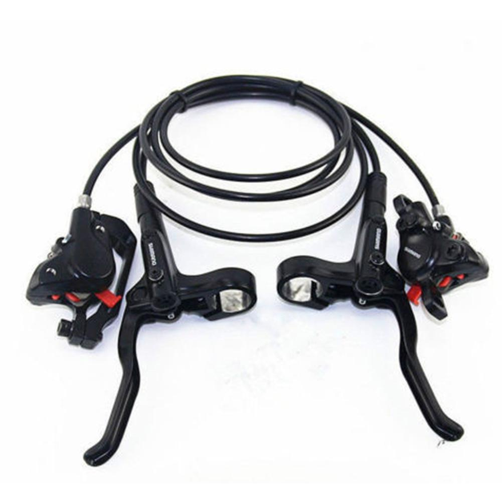 1 set MT200 Bicycle Brake Pipeline BL BR MT200 Bicycle Bike Brake handle with 4 screws Hydraulic Disc Brake Set Clamp