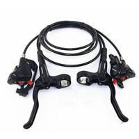 1 set MT200 Bicycle Brake Pipeline BL BR MT200 Bicycle Bike Brake handle with 4 screws Hydraulic Disc Brake Set Clamp