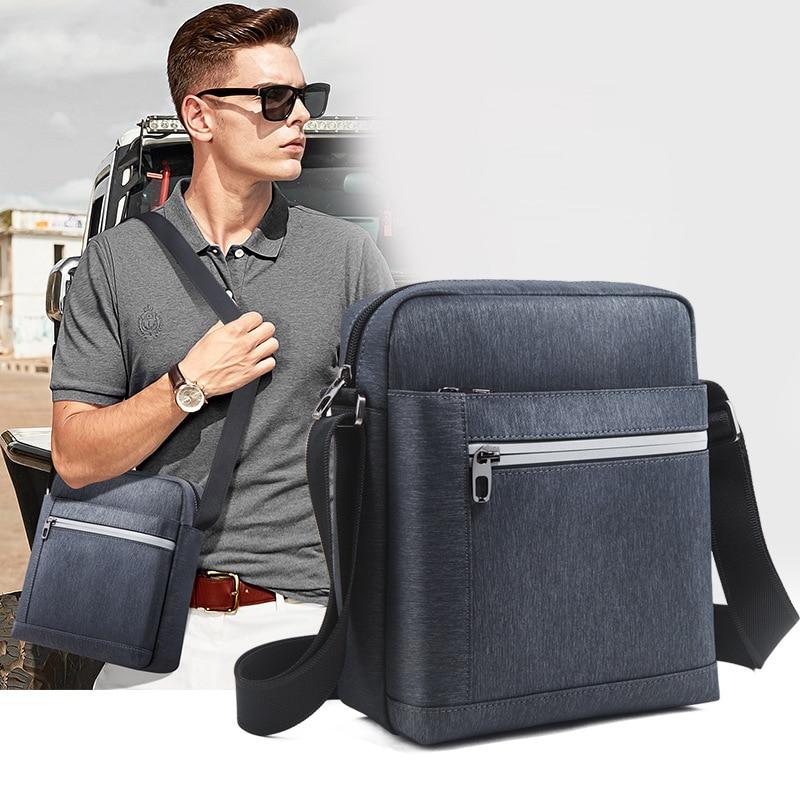 2019Fashion Shoulder  Men Casual Crossbody Bag Oxford Cloth canvas high quality men messenger bags 9511