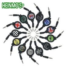 3,5 мм 80 см автомобильный AUX аудио кабель провод линия для MINI Cooper One S JCW земляк Clubman R55 R56 R57 R58 R59 R60 R61 F55 F56 F60