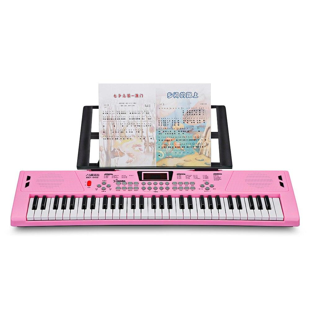 Multifonctionnel électronique Piano 16 tons 10-rythme jouet Musical éducation apprentissage jouet électronique Piano Instrument de musique
