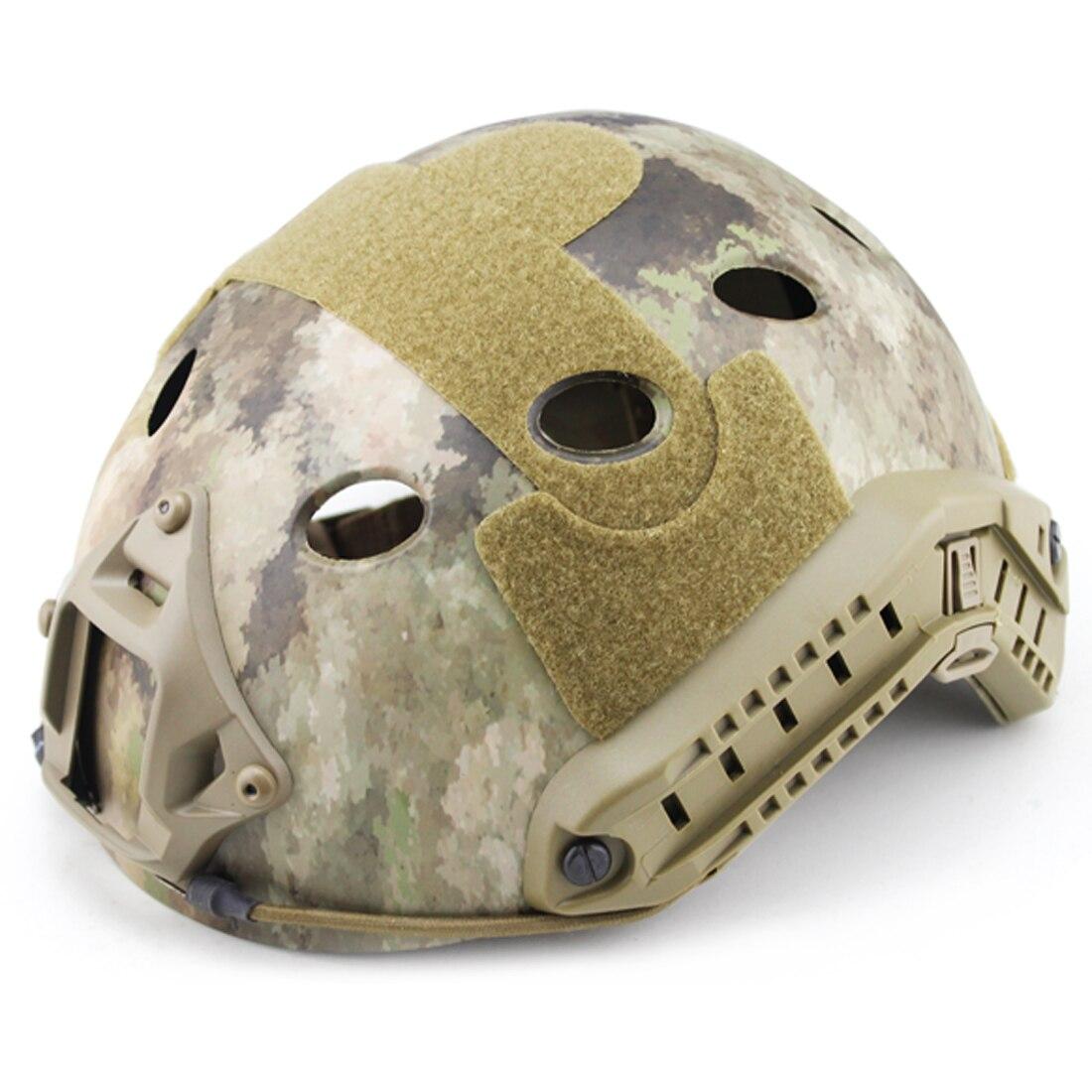 WST casque à trou rond rapide pour Nerf ou pour Airsoft accessoires de Paintball de sport
