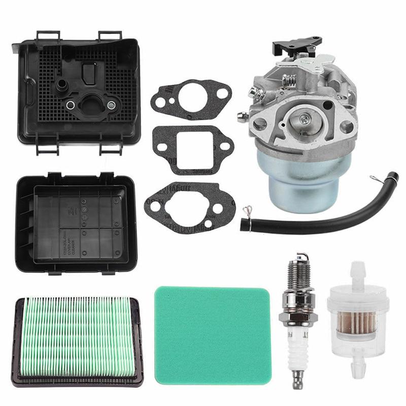 New Carburetor+Air Filter Cover+Fuel Filter +Gaskets For HONDA GCV135/160 GCV190