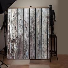 Mode planche de bois planche Texture photographie arrière plan Studio vidéo Photo arrière plans tissu téléphone accessoires photographiques
