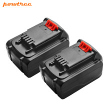 Powtree 2X 4.5Ah Li-Ion LB20 Battery for Black & Decker LBXR20 LBX20 ASL186K BDCDMT120 CHH2220 LD3K220 LPP120 LST120 L10