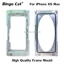 Bingo Cat Top Quality Precision Frame Mould for iPhone XS Max Glass Cold Glue Holding Mold Screen Dedicated