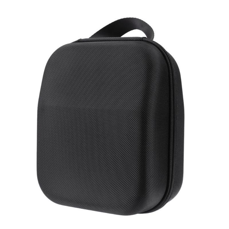 Hard Storage Case Grassmat Stripe PU+EVA Travel Box for Sennheiser HD598 HD600 HD650 Headphones Earphones Skid-proof Waterproof