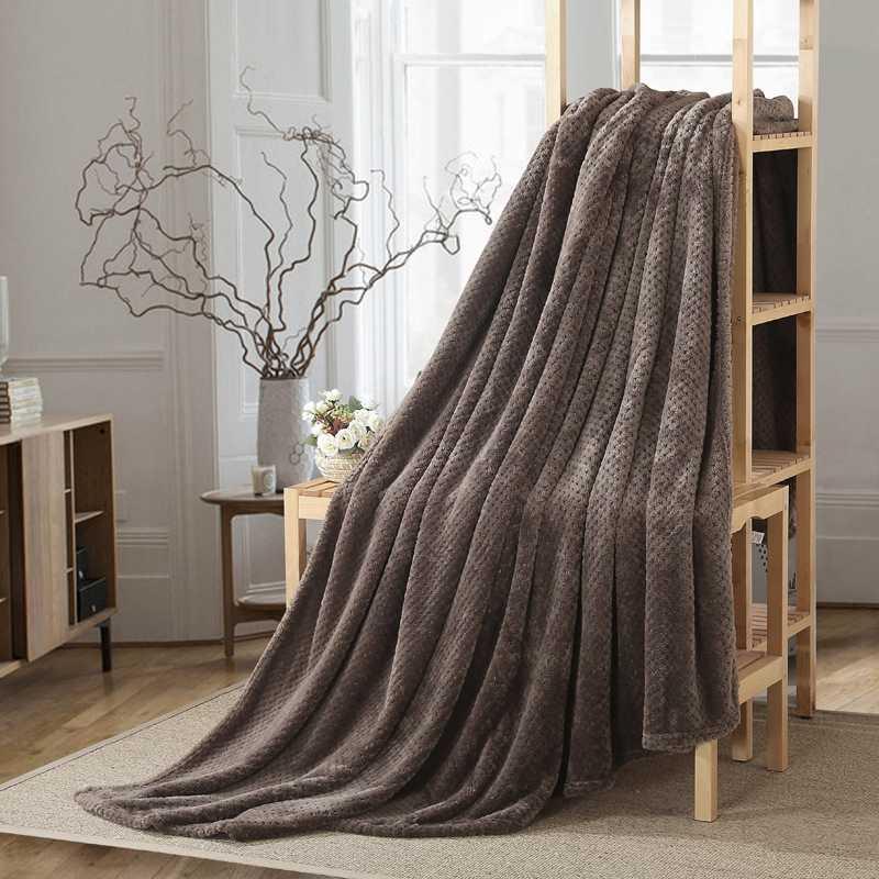 WHISM Плед покрывало постельные принадлежности Простыня супер мягкий фланелевый плед домашний текстиль теплое покрывало для сна декоративные броги для дивана