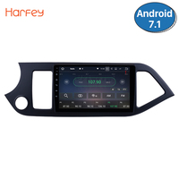Harfey 9 Inch Android 8.1 Car Head Unit Radio Player GPS Navi For 2011 2014 KIA PICANTO Morning Support Steering Wheel Control