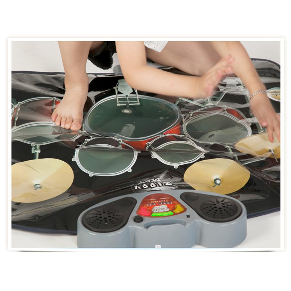 Oyuncaklar ve Hobi Ürünleri'ten Oyuncak Müzik Aleti'de Davul Müzik Battaniye Müzik Dans Halı Piyano Davul Combo Set Eğitim Hediye'da  Grup 2