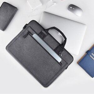 Image 4 - WIWU laptop çantası macbook çantası hava 13 durumda Pro 13 15 16 kadın erkek çantası dizüstü bilgisayar çantası 14 inç naylon su geçirmez laptop çantası 15.6