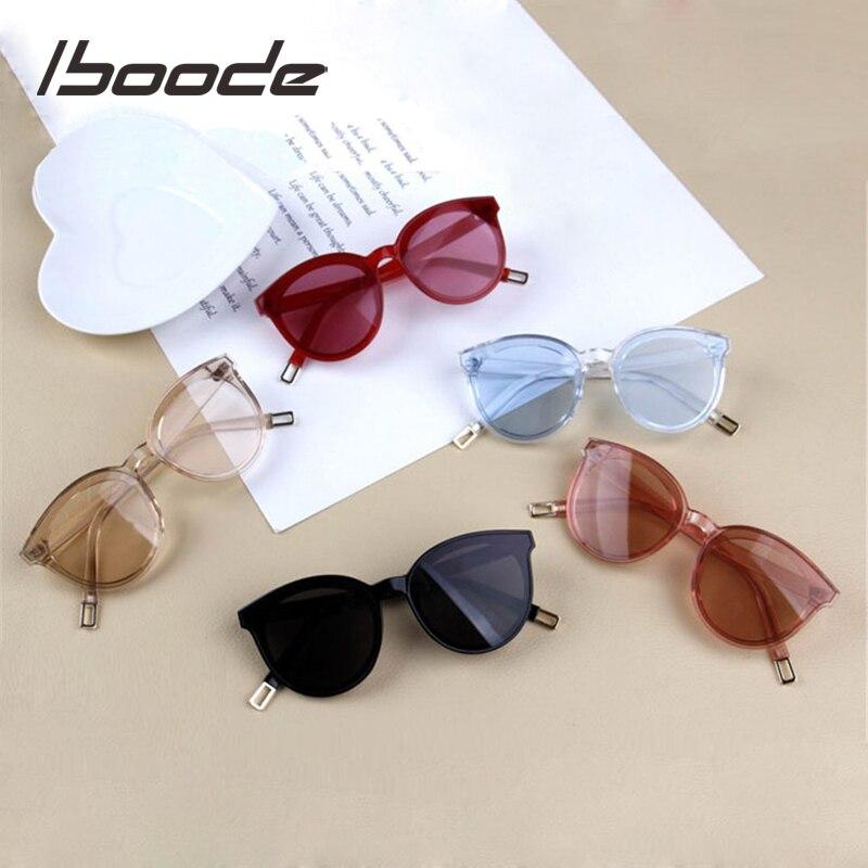 iboode Vintage Cat Eye Kids Sunglasses For Baby Children Boys Girls Sunglasses Big Cute Cateye Sun Glasses uv400 Travel Eyewear