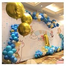 5pcs 18 inch Round Aluminum foil Balloons baby shower Ballon childrens birthday party wedding decor supplies air balloons