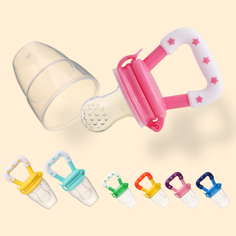 Manufacturer Wholesale Infant Fruit And Vegetable Lebao Gel Pacifier Bingle Bite Bag Bag Baby Supplementary Feeder