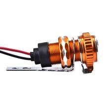 Измененные аксессуары для мотоцикла автомобиль USB с часами зарядное устройство 12 В водостойкий мобильный телефон зарядное устройство прикуриватель внутренние части