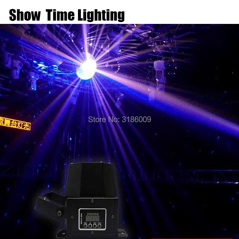 Işıklar ve Aydınlatma'ten Sahne Aydınlatması Efekti'de 30 W süper parlak LED PinSpot işık noktasal ışın demeti dj disko mini Takip spot etkisi renk almak için cam küre tam yıldız etkisi title=
