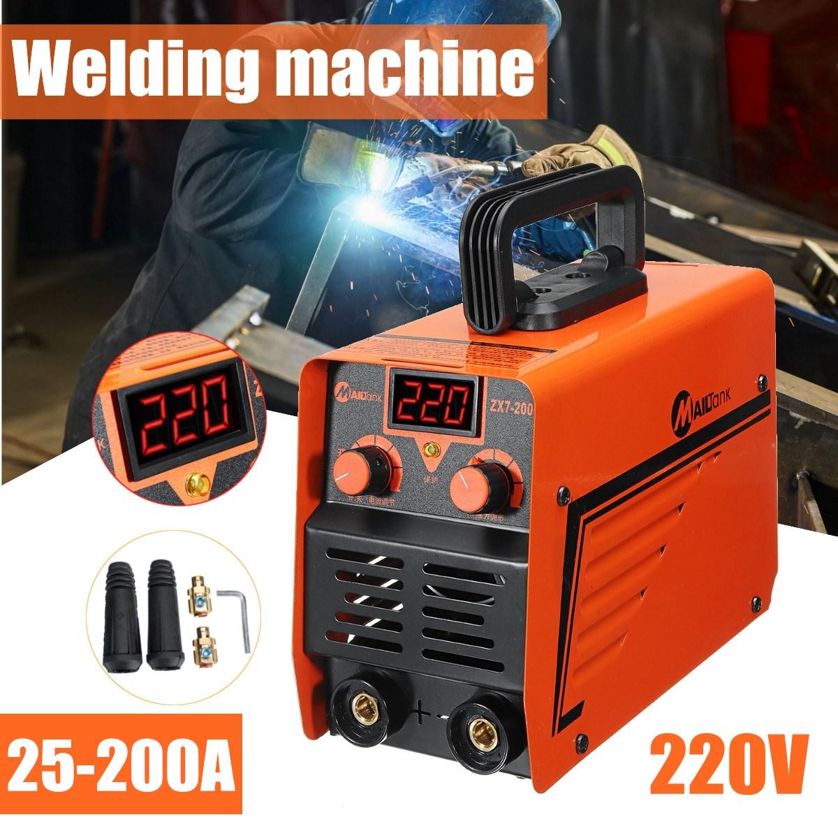 ZX7-200C De Poche IGBT Inverter MMA Soudage À L'ARC Mini Soudeurs Machine 25-200A 220 v