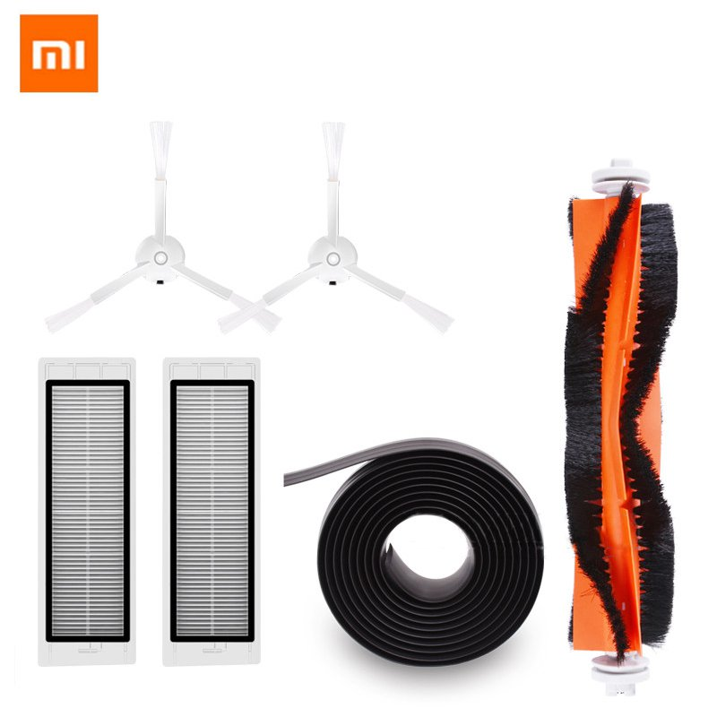 Household Appliances Genteel Xiaomi Roborock Mi Robot Kits 2pc Filter 2pcs Side Brush 1pc Main Brush 1pc Virtual Magne For Robot Vacuum Cleaner Replacements 100% Original