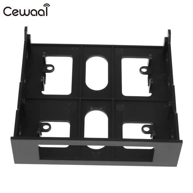 Cewaal 3.5'' to 5.25'' Drive Bay Bracket Computer Case Adapter Mounting Bracket Floppy New