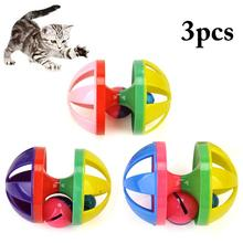 3pcs Cat Ball Toy Interactive Playing Creative Cat Play Toy Pet Cat Squeaky Toys Cat Toys Ball Training Toy Dropshipping on Aliexpress.com | Alibaba Group