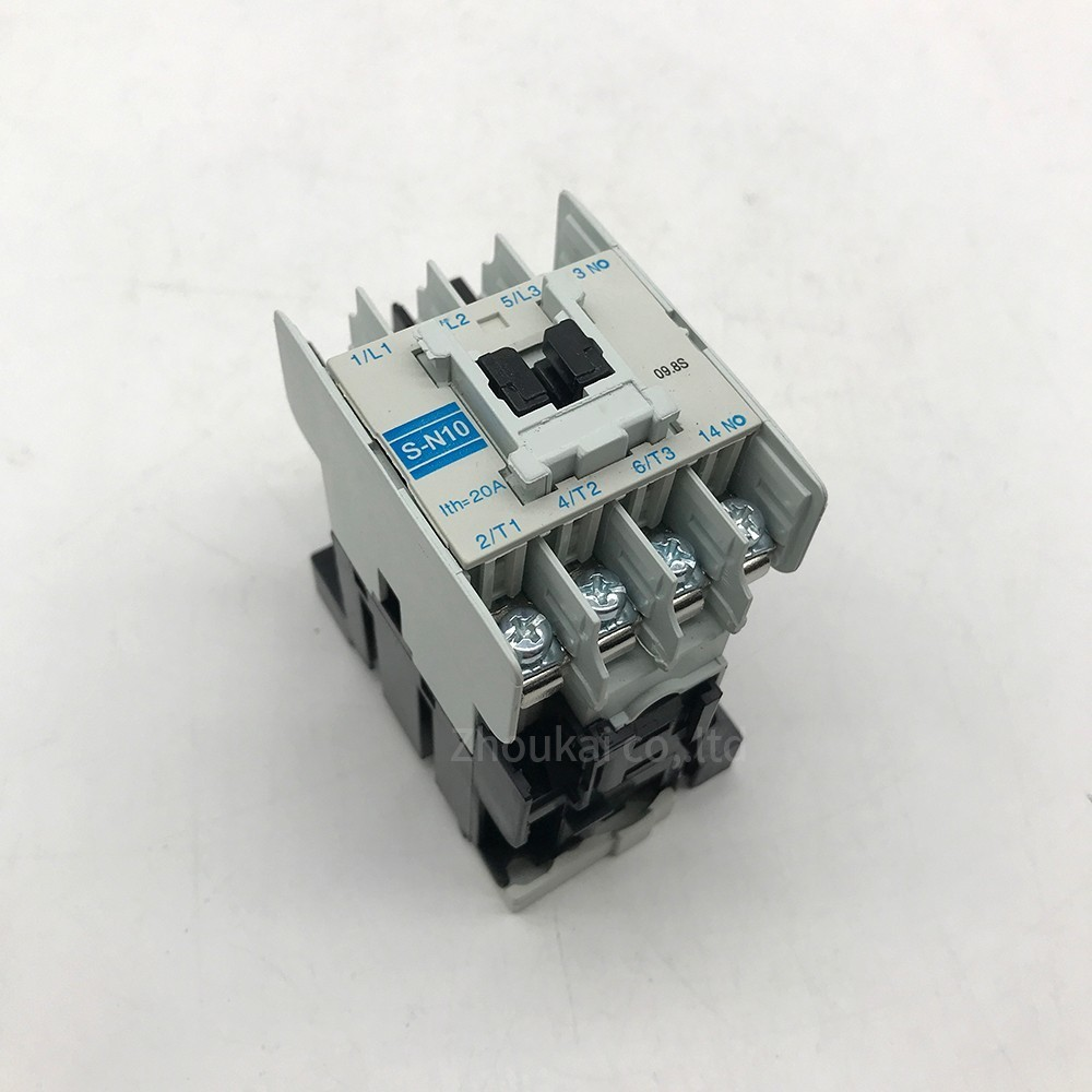 S-N10 220 V380V 20a Magnetic Ac Contact S-n10  Ac Three -phase Contact Elevator contactorS-N10 220 V380V 20a Magnetic Ac Contact S-n10  Ac Three -phase Contact Elevator contactor